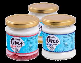 Statek Horní Dvorce: ovčí jogurty